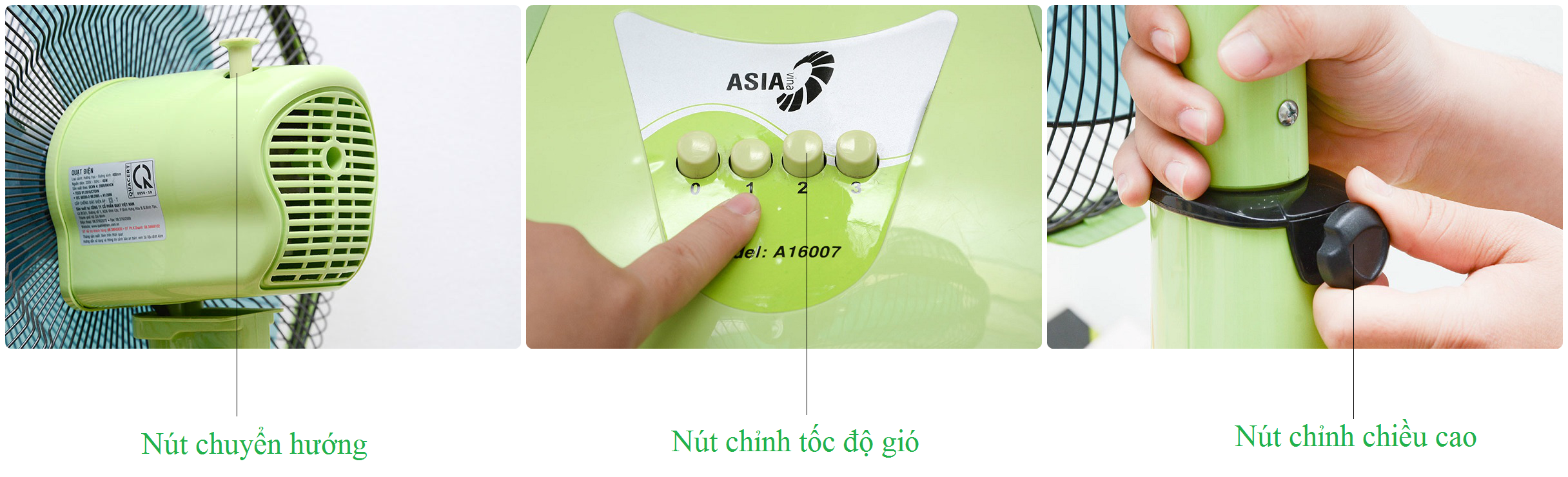 Quạt lửng Asia A16007