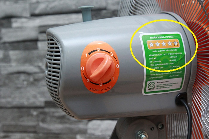 Quạt cây Asia A16009 tiết kiệm điện