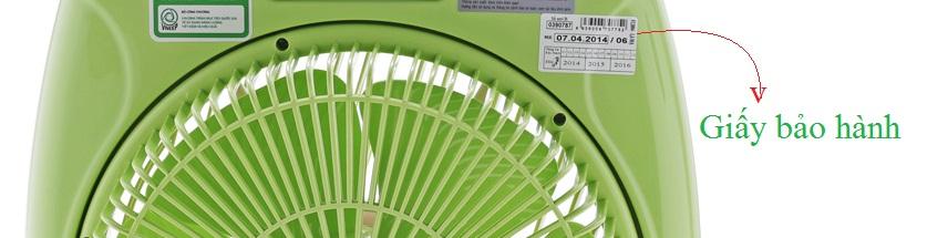 Quạt hộp Asia F16001