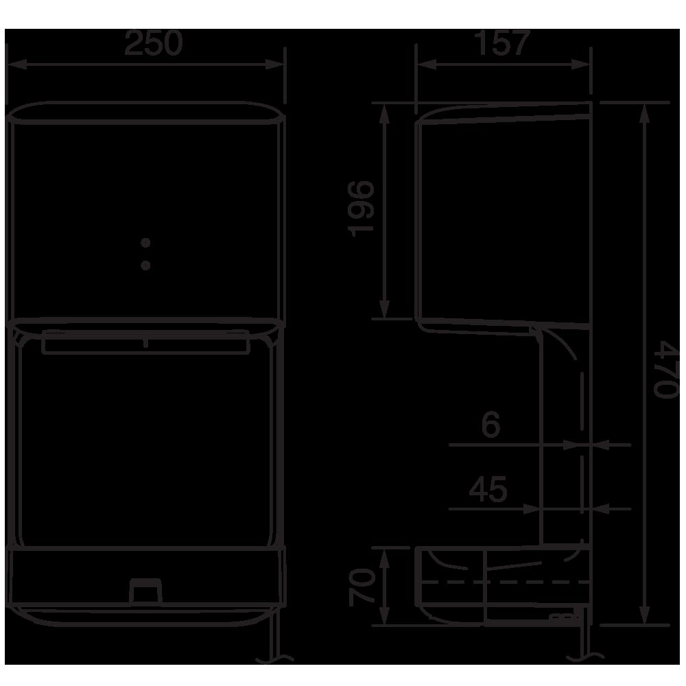 Máy sấy tay Panasonic FJ-T09A3