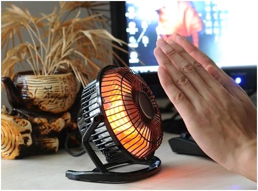 Quạt sưởi đèn halogen thích hợp cho nhu cầu sưởi ấm tức thì, ngắn hạn