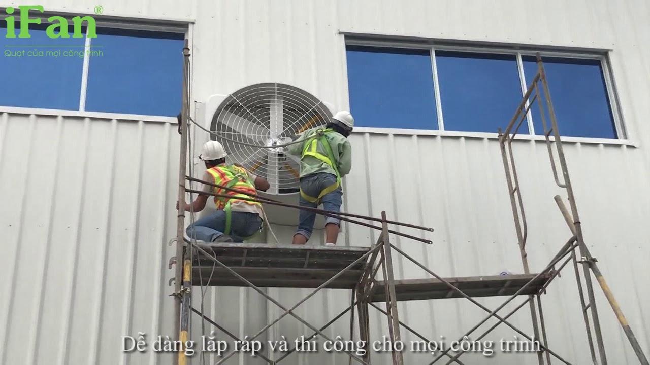 Quạt thông gió công nghiệp IFan-126A