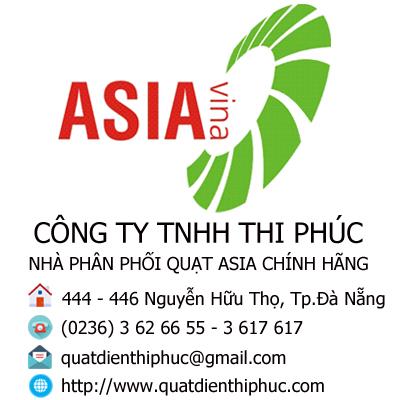 Đại lý quạt Asia cấp 1 tại Đà Nẵng và miền Trung