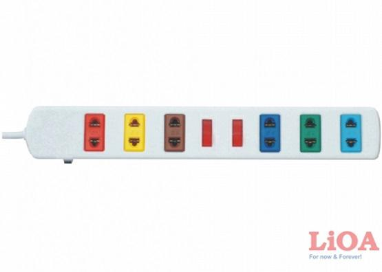 Ổ Cắm Điện Đa Năng LiOA 6S5W