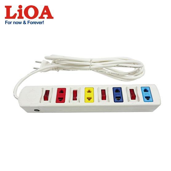 Ổ Cắm Điện Đa Năng LiOA 4SOF5W