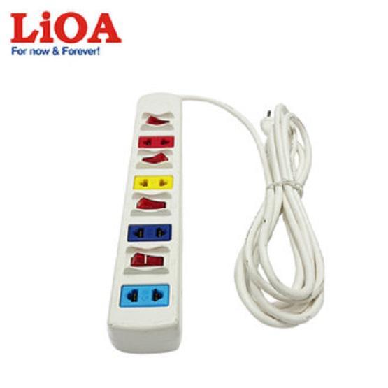 Ổ Cắm Điện Đa Năng LiOA 4SOF3W